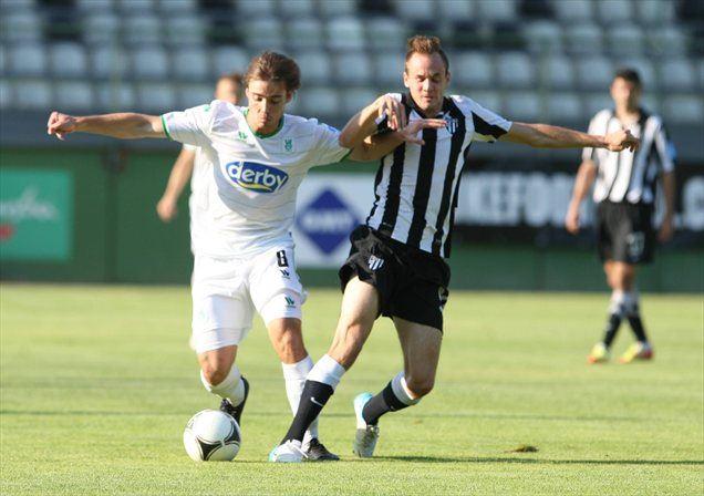 Junak zmage Olimpije v Murski Soboti je bil Damjan Trifković, ki je zabil oba gola za goste.