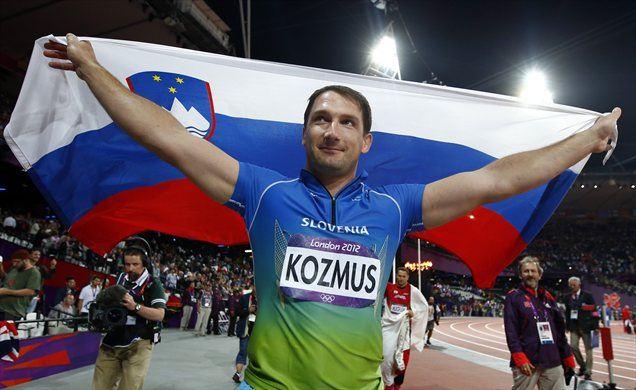 Primož Kozmus je po zlati medalji iz Pekinga v Londonu osvojil srebro.