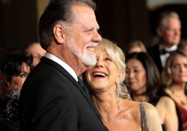 Taylor Hackford in Helen Mirren.