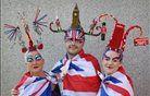 Skultpura iz las katalonskega umetnika Osadie v čast uspešnosti britanskih športnikov na olimpijskih igrah. Foto: Peter Macdiarmid/Getty Images