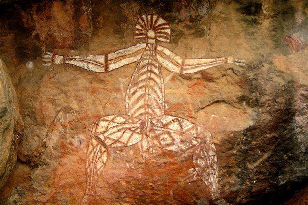 Starodavne aboriginske poslikave pričajo o človeškem življenju v parku Kakadu že pred več kot 20 tisoč leti.