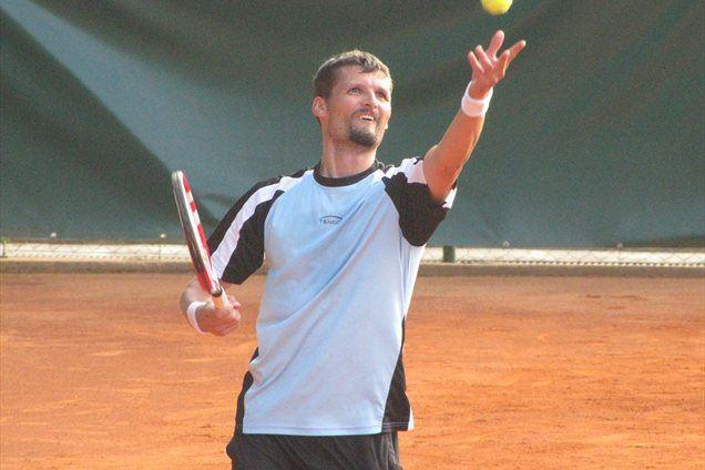 Jože Gorenc, finalist odprtega prvenstva v Kamniku.