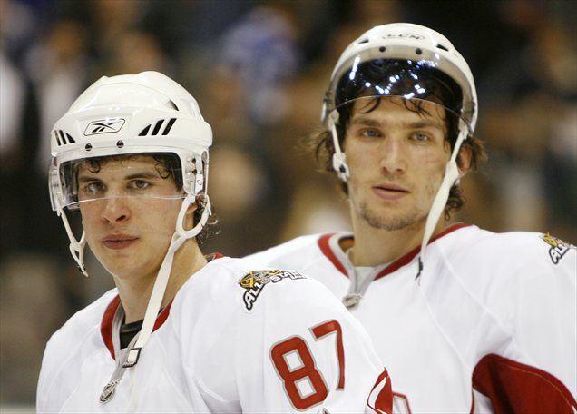 V Torontu sta bila tudi Sidney Crosby in Aleksander Ovečkin.