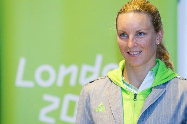 Olimpijka Mateja Šimic je bila na Kranjskogorski 10ki najhitrejša v ženski konkurenci.