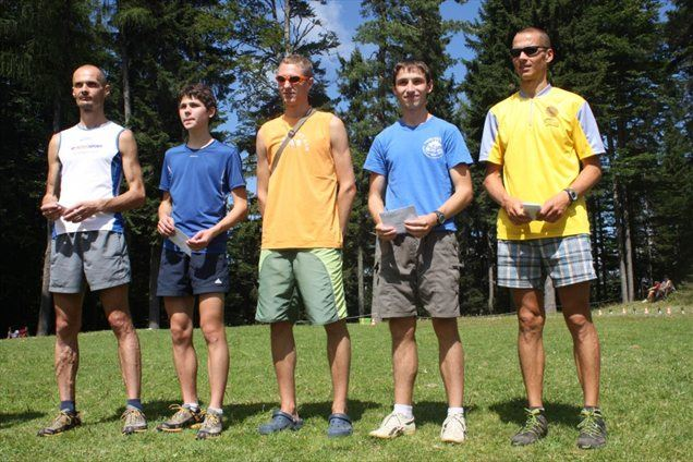 Najhitrejši v moški konkurenci na lanskem gorskem teku na Klopni vrh.