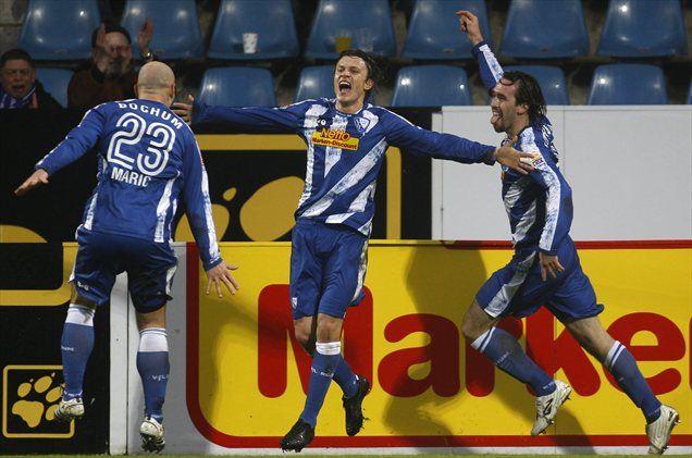 Zlatko Dedić je v štirih dneh zabil štiri gole. Dva za Slovenijo in dva za Bochum.