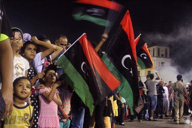 V Libiji so 8. avgusta praznovali prvo obletnico padca Gadafijevega režima