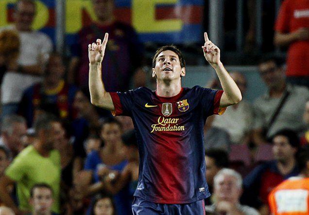 Lionel Messi je že na začetku nove sezone pokazal odlično strelsko formo.