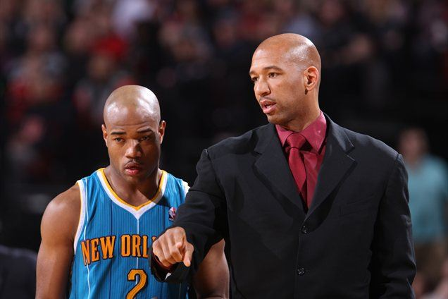 Monty Williams (desno)