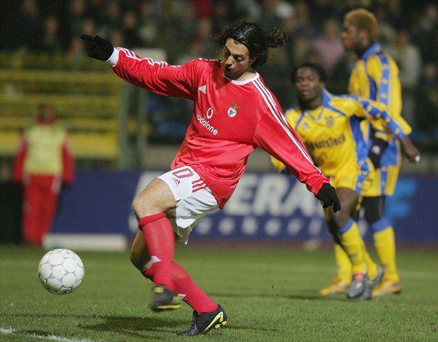 Zlatko Zahović je kariero sklenil pri lizbonski Benfici.
