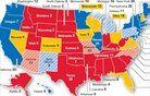 V katerih zveznih državah bo padla odločitev o novem predsedniku ZDA?