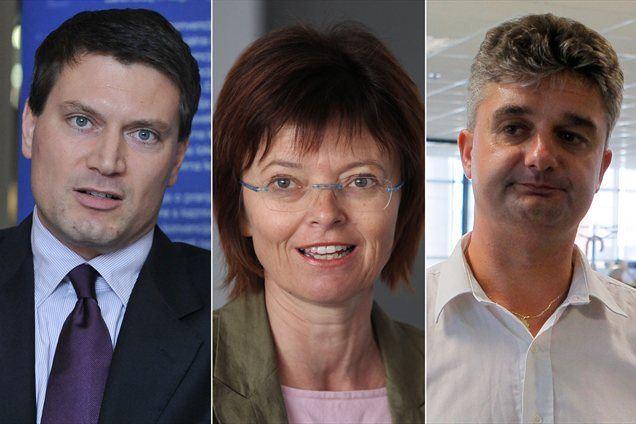 Jurij Giacomelli, Romana Dobnikar Šeruga in Goran Novković