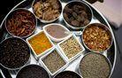 Indijske dobrote na predstavitvi kuharske knjige Sila okusi Indije.Foto:Matej Leskovšek