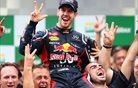 Kako je Vettel dvignil tri prste