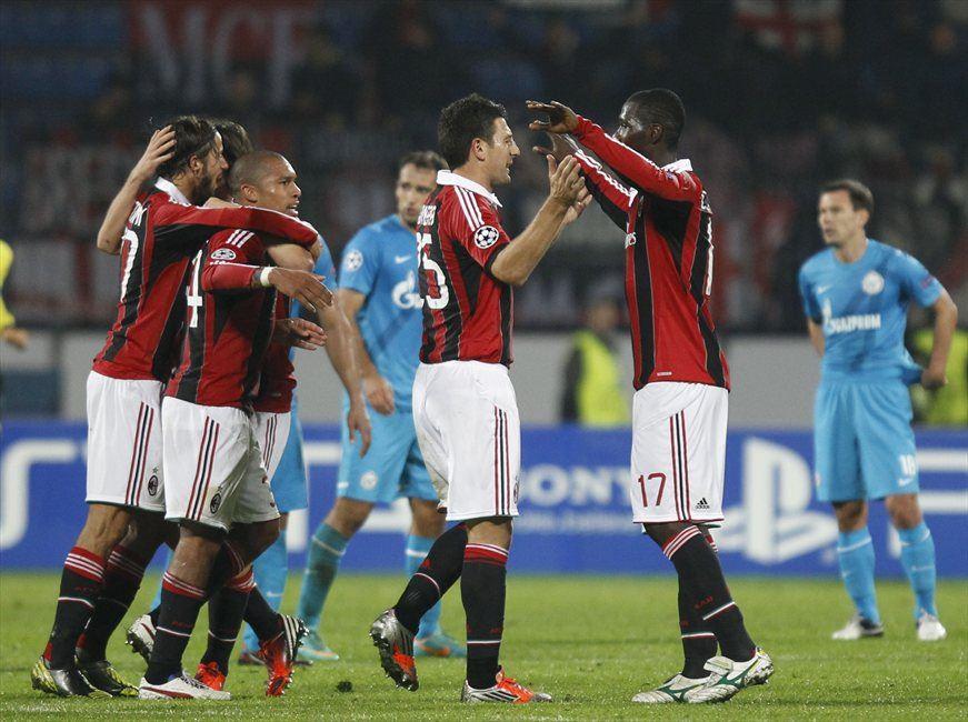 Na prvem medsebojnem srečanju v Rusiji je Milan Zenit premagal s 3:2.