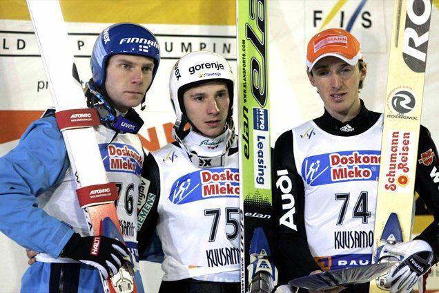 Zmaga Kranjca v Kuusamu leta 2005.