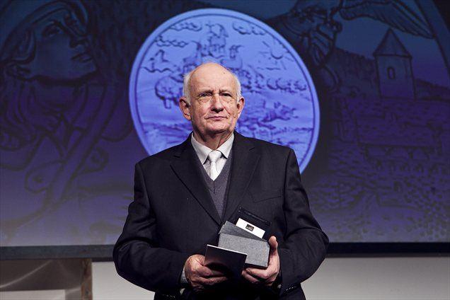 Stojan Kerbler, prejemnik nagrade za življenjsko delo.