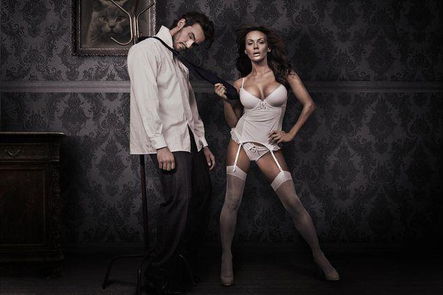 Moški, ki imajo ob sebi norico, so ponavadi privezani nanjo predolgo.