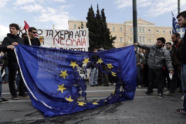 Varčevalna politika je v južnoevropskih državah naletela na oster odziv