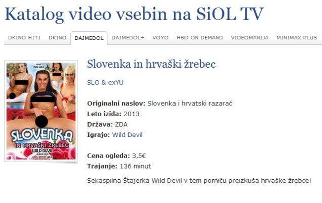 Slovenka in hrvaški žrebec - ekskluzivno v videoteki Dajmedol na SiOL TV!