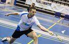 Poraza slovenskih badmintonistov