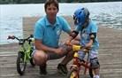 Povsem konkretno: kako otroka naučiti voziti kolo (video)