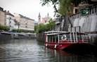 Z gladine Ljubljanice je mesto drugačno (foto)