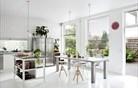 Prostorna kuhinja in zelena terasa - načrt za popoln dom? (foto)