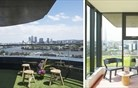 Londonski penthouse z umetno travo (foto)
