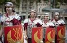 Ljubljana se je vrnila v čas rimske Emone (foto in video)