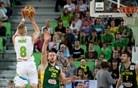 V živo: Slovenija in Litva v zadnjo četrtino vstopili kot enakovredni