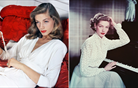 Obeta se razstava, posvečena modni ikoni Lauren Bacall