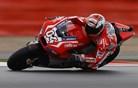Ducati iz prve štartne vrste, Rossi kot šesti