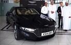 Aston Martin in Oman Air do arabskih bogatašev peljala prototip nove lagonde