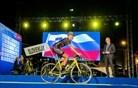 Paša za oči: štafetna dirka in svečano odprtje svetovnega prvenstva za kolesarje amaterje