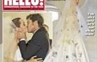 Prve fotografije Angeline Jolie v poročni obleki