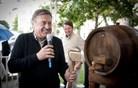 Janković s sodom merlota odprl ljubljanski vinski sejem (foto)