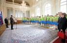 Pahor sprejel uspešne mlade slovenske olimpijce