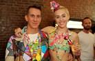 Jeremy Scott in Miley Cyrus s psihadelično revijo