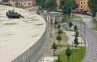 So lahko rešitev za Slovenijo kovinske protipoplavne ograje? (foto in video)
