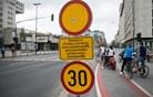 Vpliv zaprtja Slovenske ceste na promet v Ljubljani