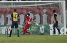 Gerrard v 93. minuti potopil Bezjakov Ludogorec, Oblak na vratih Atletica prejel tri gole