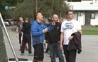 Lepa gesta v spomin ubitemu policistu (video)