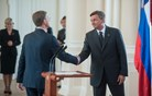 Predsednik Pahor ob sprejemu nove vladne ekipe pozval k sodelovanju (video)