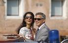 Prestižna poroka Georgea Clooneyja v Benetkah (foto in video)