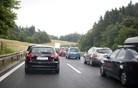 Primorska avtocesta zaradi prometne nesreče zaprta