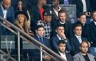 Med nogometnim občinstvom tudi Beckham, Beyonce in Jay Z