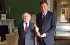 Na Irskem še Pahor dobi oskarja