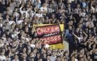 Rasistični napis bo Partizan stal 40.000 evrov