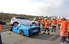 Lastnik superšportnega eksota povzročil nesrečo, škode za okrog 700 tisoč evrov